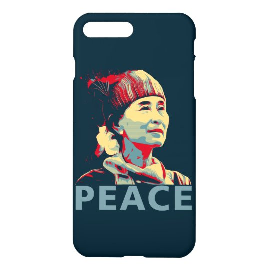 THE FIGHTER - Aung San Suu Kyi iPhone 8 Plus/7 Plus Case