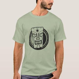 The Fightin' Tiki Heads B&W T-Shirt