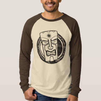 The Fightin' Tiki Heads Distressed T-Shirt