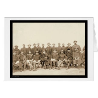 The Fighting 7th Cavalry Officers SD 1891 Card