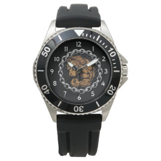 The fighting bear wristwatches