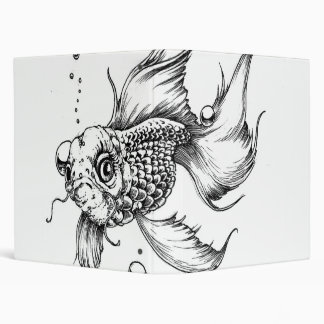 The Fighting Fish- Vinyl Binders
