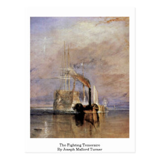 The Fighting Temeraire By Joseph Mallord Turner Postcard