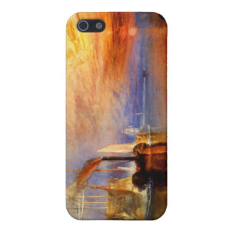 The Fighting Temeraire, J. M. W. Turner iPhone 5/5S Cases