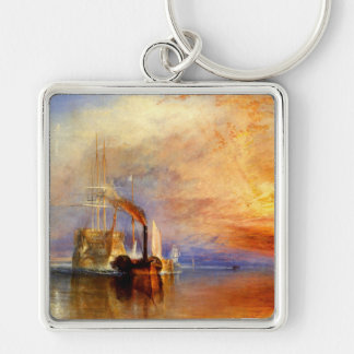 The Fighting Temeraire, J. M. W. Turner Keychain