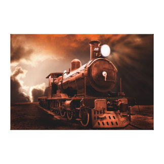 The Final Trip Home Canvas Print