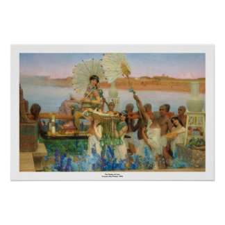 The Finding of Moses (accurate) ~ Alma-Tadema Poster