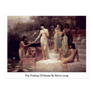 The Finding Of Moses By Edwin Long Postcard