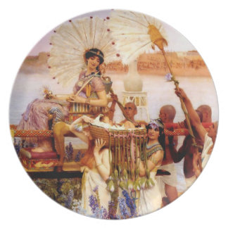 The Finding of Moses by Jean Leon Gerome Party Plates