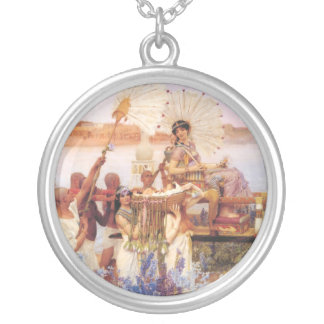 The Finding of Moses Silver Plated Necklace