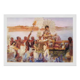 The Finding of Moses, Sir Lawrence Alma-Tadema Poster
