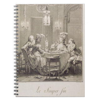 The Fine Supper, 1781, engraved by I.S. Helman (17 Note Books