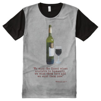The Finest Wines All-Over-Print T-Shirt