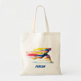 The Finish Motivational Tote Bag