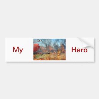 The Fire Fighter Prayer Bumper Sticker