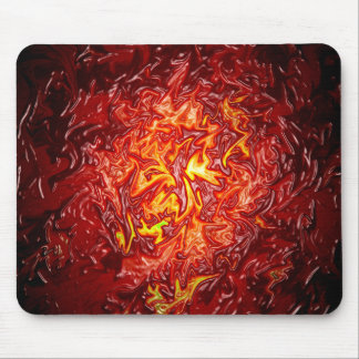 The Fire from within.... Mouse Pad