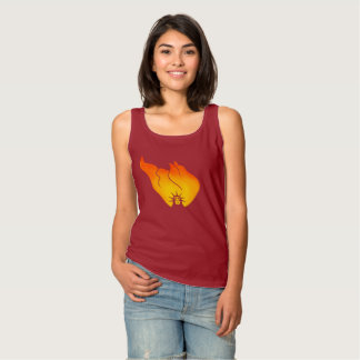 The Fire of Liberty Tank Top