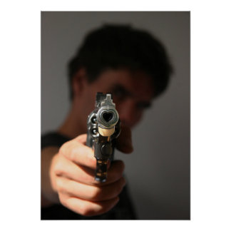 the firearm of the death which kills poster