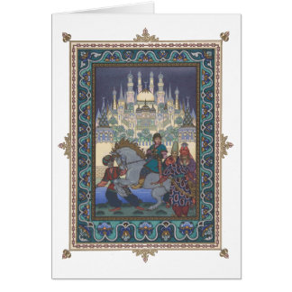 The Firebird: Tsarevich Ivan on the Horse Card