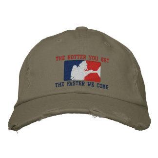 The Firefighter Custom Humorous Embroidery Baseball Cap