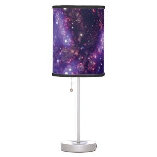 The Fireworks Galaxy Outer Space Photo Table Lamp