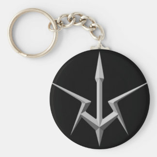 The Firm Emblem Basic Round Button Keychain