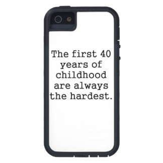 The First 40 Years Of Childhood Case For iPhone 5