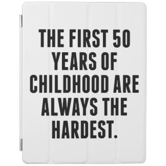 The First 50 Years Of Childhood iPad Cover