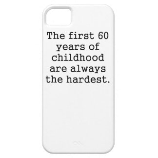 The First 60 Years Of Childhood iPhone 5 Case