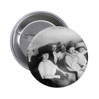 The First All Woman Jury in Las Angeles from 1911 2 Inch Round Button