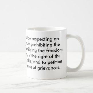 The First Amendment Coffee Mug