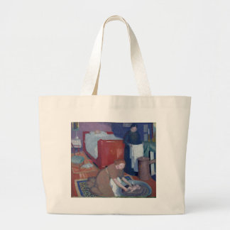The First Bath, c.1899 Large Tote Bag