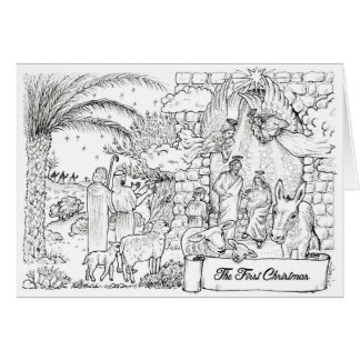 'The First Christmas' Card
