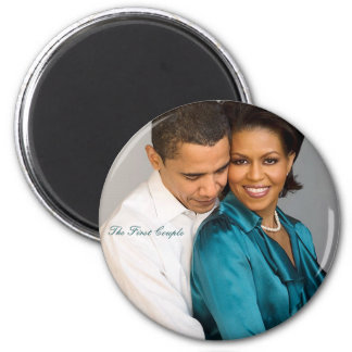 """The First Couple"" Magnet"