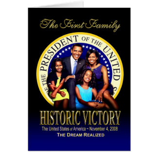 The First Family - Historic Victory Card