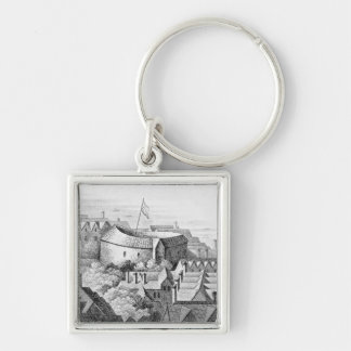The First Globe Theatre or Rose Theatre Key Chains