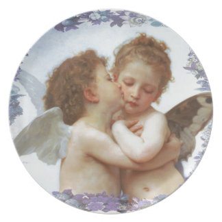 THE FIRST KISS, C.1873 William Bourgeau Plates
