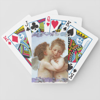 THE FIRST KISS, C.1873 William Bourgeau Poker Deck