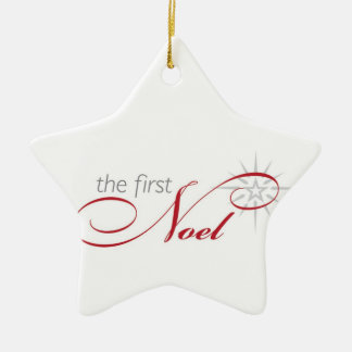 The First Noel Ornament