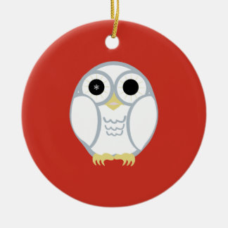 the first snow owl ornament