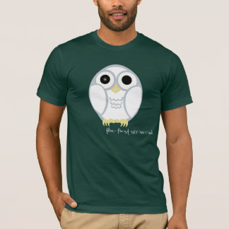 the first snow owl T-Shirt