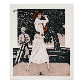 The First Tee 1912 - Golf Print