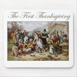 The First Thanksgiving Mouse Pad