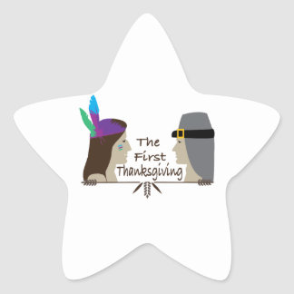 The First Thanksgiving Stickers