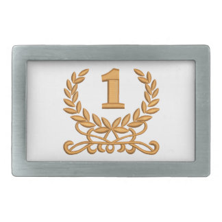 the first - the imitation of machine embroidery rectangular belt buckle