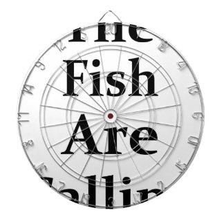 The Fish Are Calling Dartboard