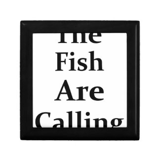 The Fish Are Calling Gift Boxes