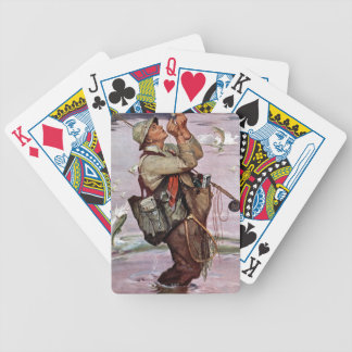 The Fish are Jumping Bicycle Playing Cards
