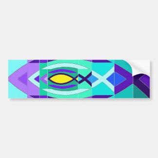 The Fish. Bumper Sticker