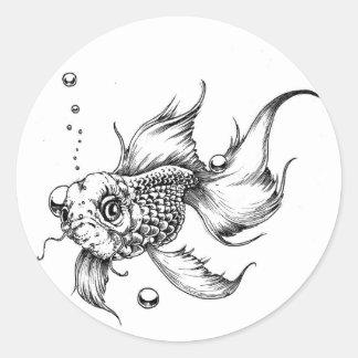 The Fish- Classic Round Sticker